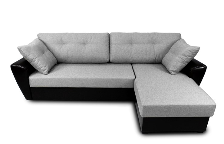 угловой диван амстердам цвет поло серый Sdb тканькожзам в